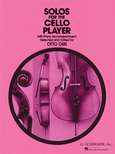 Andante Music Book Guitar - Solos for the Cello Player (With Piano Accompaniment)