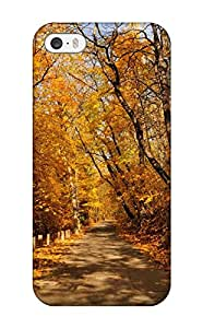 Shirley Peeples Iphone 5/5s Hybrid Tpu Case Cover Silicon Bumper Earth Forest