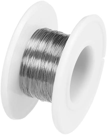 uxcell 18 Gauge Resistance Wire Wrapping 82ft Nichrome Heating Resistor Wires