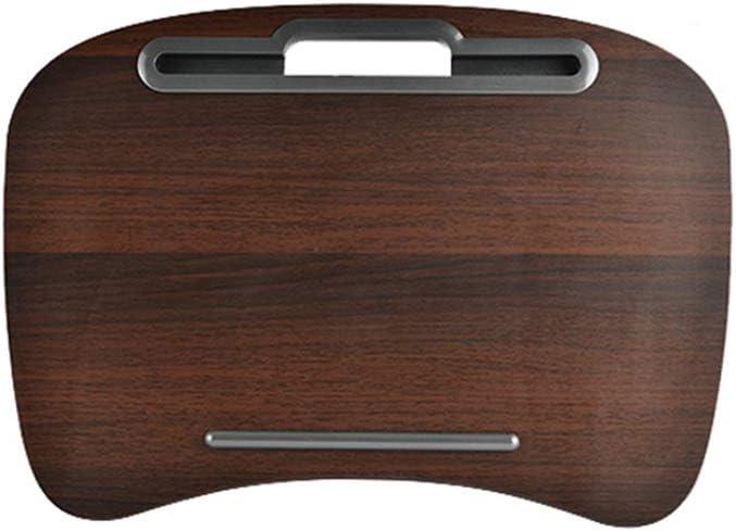 デスク用ノートパソコンスタンド ノートブック用ノートパソコントレイ 14インチ/16インチまでのMacBook用 タブレット ノートブック 携帯ホルダー付き