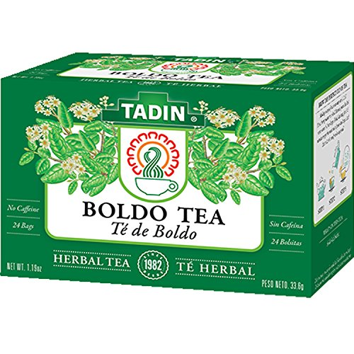 Tadin Boldo Herbal Tea (24 Teabags) (Boldo Leaves)
