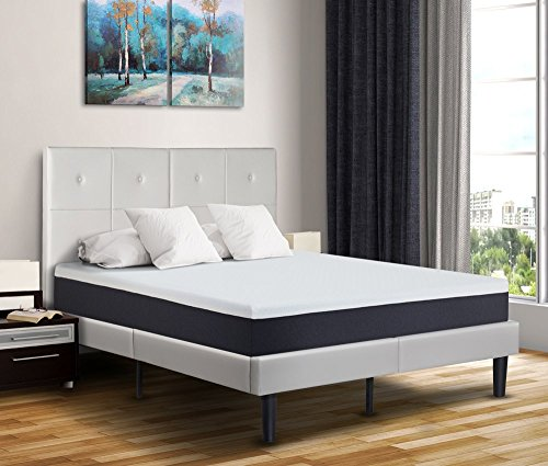 PrimaSleep Modern Air Flow Cool Gel Memory Foam Comfort Bed Mattress, Twin, 10'' H