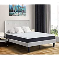 PrimaSleep Modern Air Flow Cool Gel Memory Foam Comfort Bed Mattress, Twin, 10 H