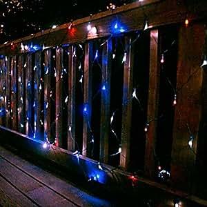 Ledtcx Ships in 24 hours 100 LED Net Light 2m X 1.5m Solar Christmas Light Holiday Party Lamp