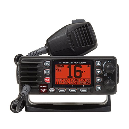 Standard Horizon GX1300B Eclipse Fixed Mount VHF Radio (Black) by Standard Horizon (Image #1)