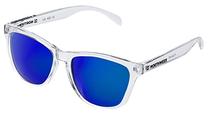 Gafas de sol Northweek ALL Bright white | lente azul ...