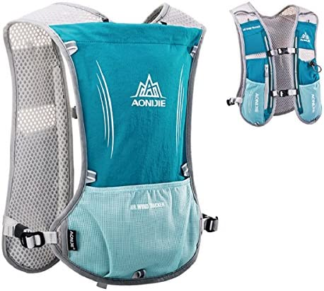 TRIWONDER Hydration Pack Backpack 5L Marathoner Running Race Hydration Vest