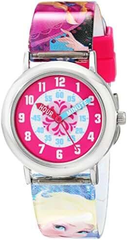 Disney Kids' FNFKQ039 Frozen Time Teacher Watch