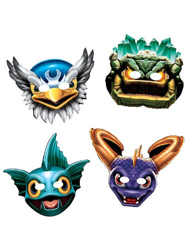 Skylanders Paper Masks Assortment (8) -