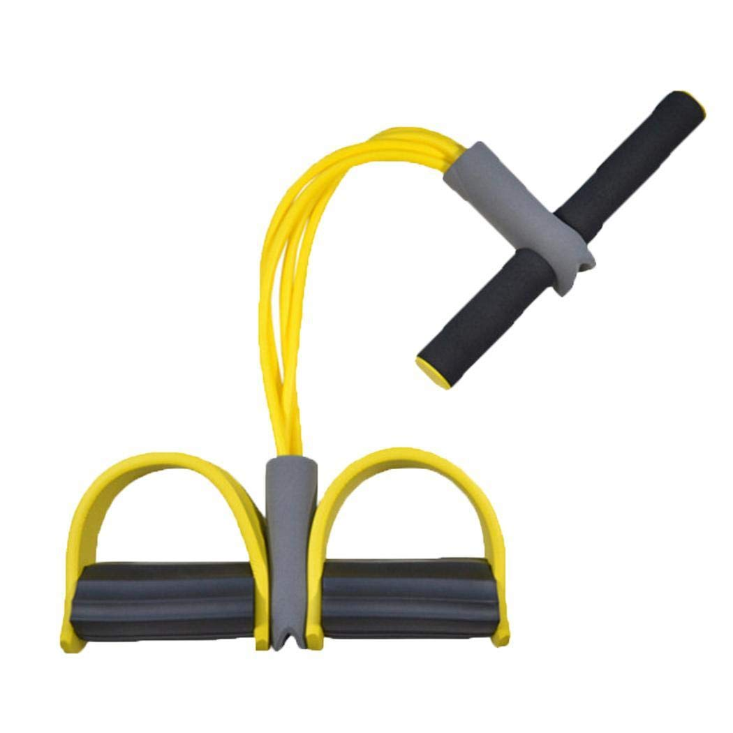 Bluefringe Sit Up Pull Rope Skinny Legs Abdominal Fitness Exercise Workout Equipments Portable in Home Office