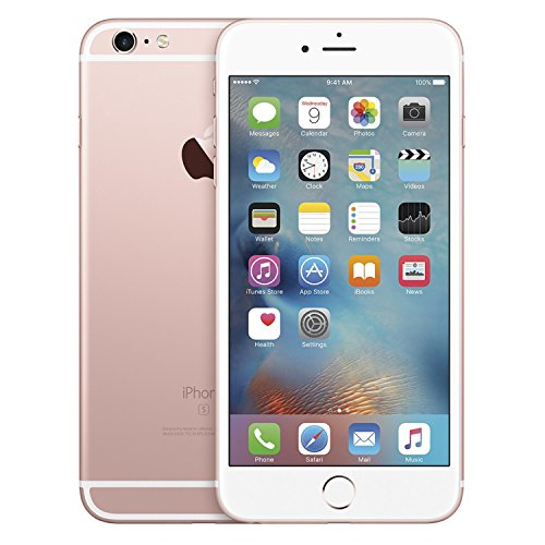 Apple iPhone 6S, 128GB, Rose Gold - For AT&T / T-Mobile (Renewed)