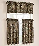 Cheap Mossy Oak Break-Up Infinity 29″ x 36″ Window Curtain Tier Panel, Set of 2 with 60″ x 15″ Valance