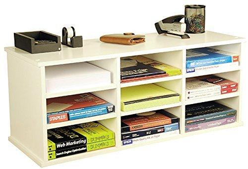 Venture Horizon 9 Compartment Organizer- White