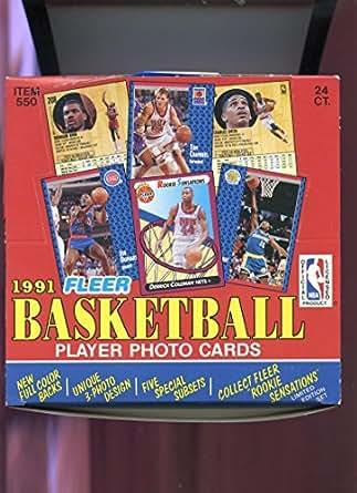 1991 92 Fleer Basketball Jumbo Pack Box 2 Wax Michael