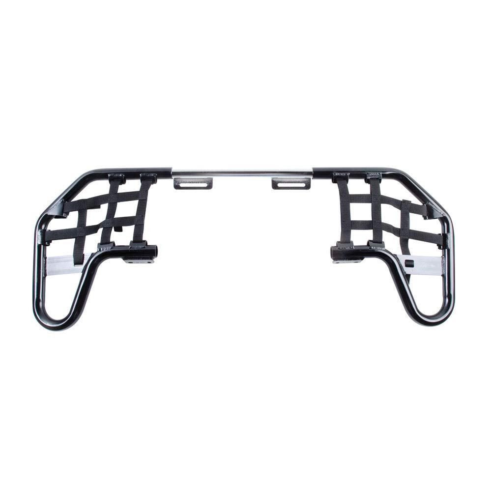 Tusk Comp Series Nerf Bars Black With Black Webbing - Fits: Honda TRX 250EX 2001-2008