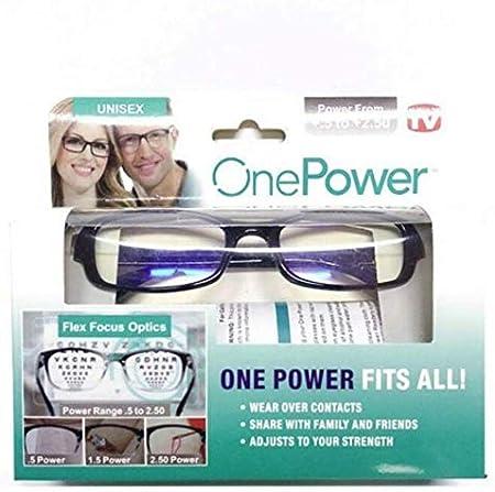 Dial Vision - Gafas de lectura ajustables, enfoque transparente, ajuste automático