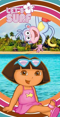 Dora Summer Surf Fiber Beach Towel