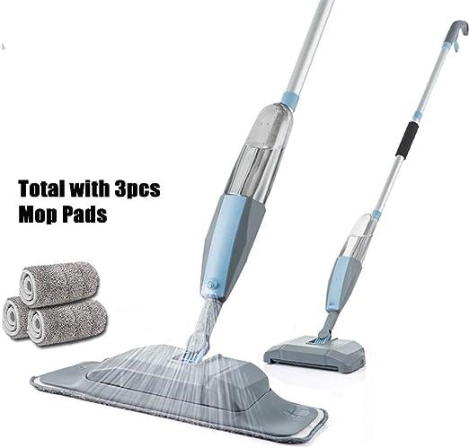 SADDPA Mopa 3 en 1 de Mano del Aerosol fregona y Sweeper máquina ...