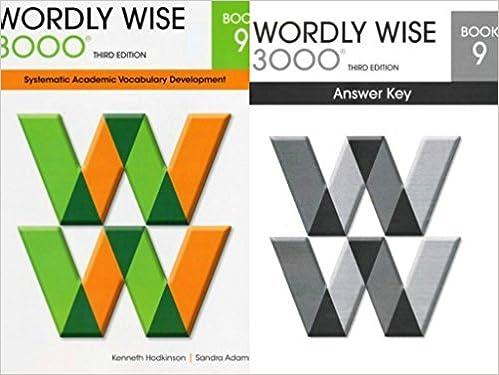 Wordly Wise: Teachers Key Book 9