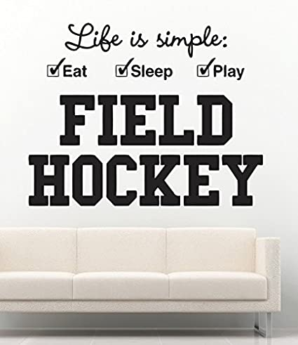 Amazon.com: USA Decals4You | Sport Wall Decals Hockey Quotes ...