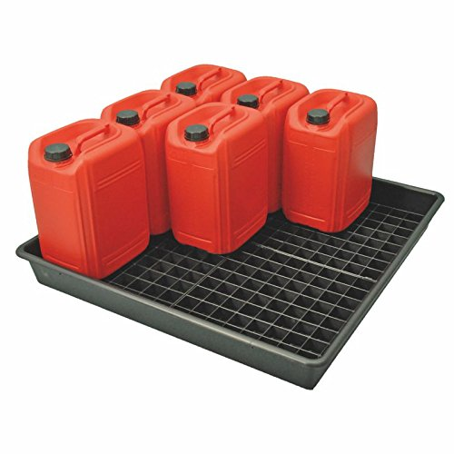 Spill Tray with Removable Base Grids 100 Litres Capacity TradeShop Direct