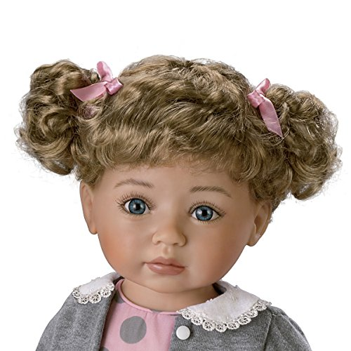 The Ashton-Drake Galleries Mayra Garza Poseable Child Doll with Vinyl Skin and Hold That Pose Armature by The Ashton-Drake Galleries (Image #1)