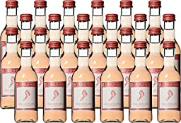 Barefoot Cellars California Pink Moscato Wine 24 x 187 mL
