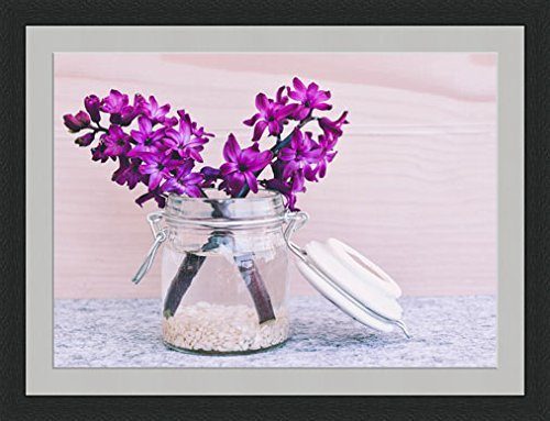 Hyacinth Flowers in Jar Framed Wall Art Wall  Frames Wall