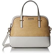 kate spade new york Cedar Street Straw Maise Satchel Bag