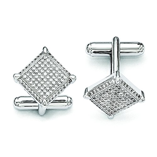 Sterling Silver and CZ Brilliant Embers ()