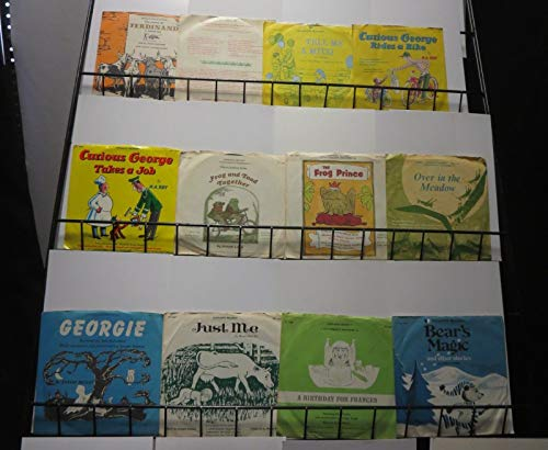 (Vintage Childrens Scholastic Records Set! 12 records, Curious George,Frog & Toad)