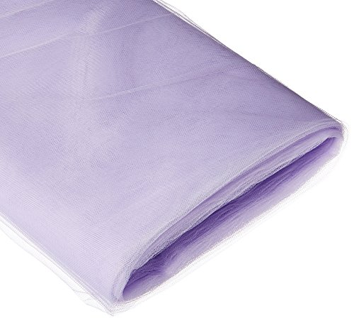 (BBCrafts Lavender Polyester Tulle Fabric Bolt 54 inch 40 Yards)