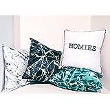 "Set of 4 Decorative Decor Pillow Cover 18""X18"""