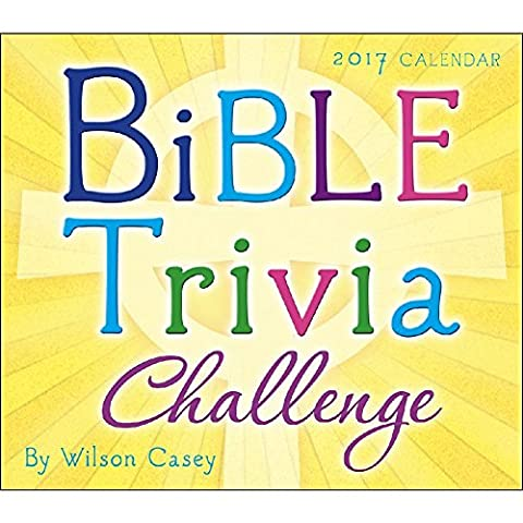 Bible Trivia Challenge 2017 Daily Desk Boxed Calendar (Business Trivia)
