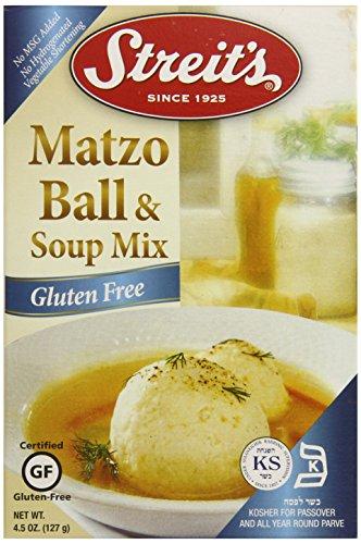 Streit's Gluten Free Matzoh Ball Mix and Soup Mix, 4.5 Ounce