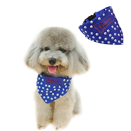 Pet Dog Bandana Birthday Gift Triangle Scarf Printing Kerchief Cotton Bibs Accessories For Small To Large Dogs Cats Traction Collar For Unisex Baby Girls Boys Puppies Machine Washable (M, - Which In Us State Chicago