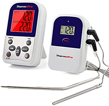 ThermoPro TP-12 Wireless Remote Kitchen Food Thermometer