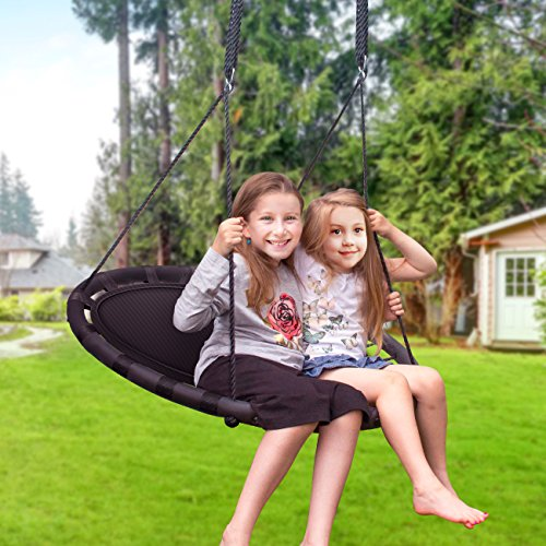 A spinner swing is one of the best outdoor toys for kids