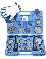 FreeTec 23pcs Professional Disc Brake Caliper Wind Back Tool Kit with Blue Case