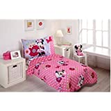 Minnie Mouse Bow Power 4-piece Toddler Bedding Set