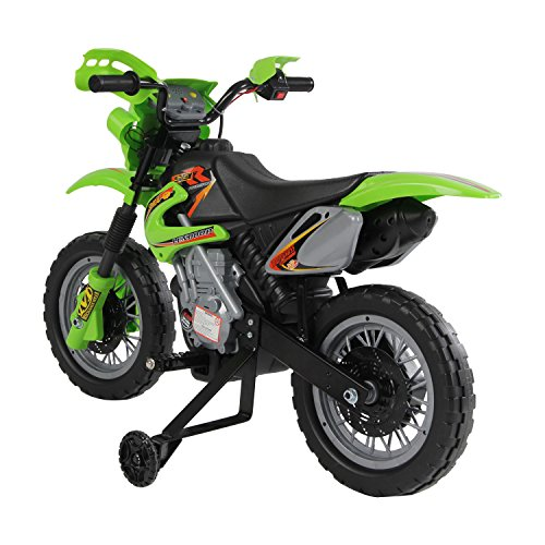 Qaba Kids Electric Motorbike Child Ride on Motorcycle 6V Battery Scooter...