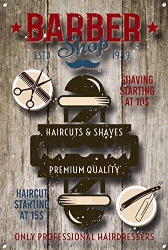 Señal de barbería personalizada de Norma Lily Barber Shop ...