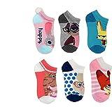 Disney Zootopia Socks Girls Pair No Show Size S/M Sho size 9-2.5