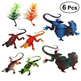 LUOEM 6PCS Animal Toys Educational Resource High Simulation Realistic Insects Figures Toys for Kid's Toddler Education,Class Activities,Playtime and Halloween Birthday Party Supplies