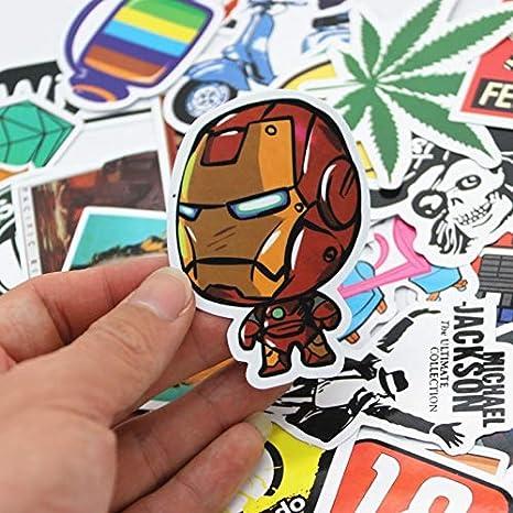 100pcs/set Graffiti Pegatina Coche Estilo Skateboard ...