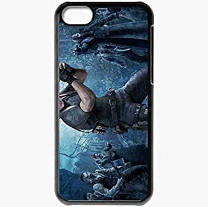 Personalized iPhone 5C Cell phone Case/Cover Skin Resident Evil 4 Black