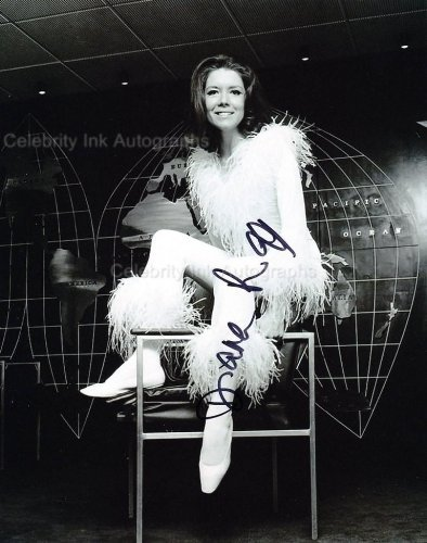 DIANA RIGG as Emma Peel - The Avengers Genuine Autograph from Celebrity Ink
