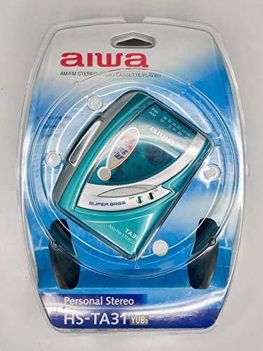 Toca Fitas Cassete Portátil AIWA HS-TA31 Walkman K7