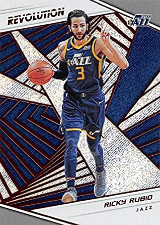 cheap for discount b6749 d9d00 Amazon.com: 2018-19 Revolution Basketball #29 Ricky Rubio ...