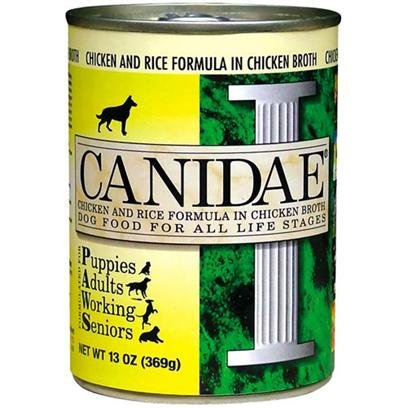 Canidae Canidae All Life Stages Chicken and Rice Canned Dog Food 13 oz cans / case of 12 Canned Food